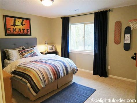 skateboard themed bedroom my son s skateboard room delightful order blog