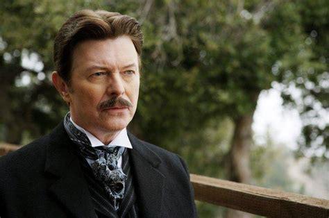 David Bowie Tesla Actor David Bowie Nikola Tesla Moustache