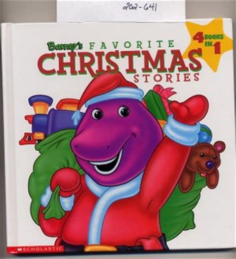 Barney S Favorite Christmas Stories 4 Books In 1 Hc