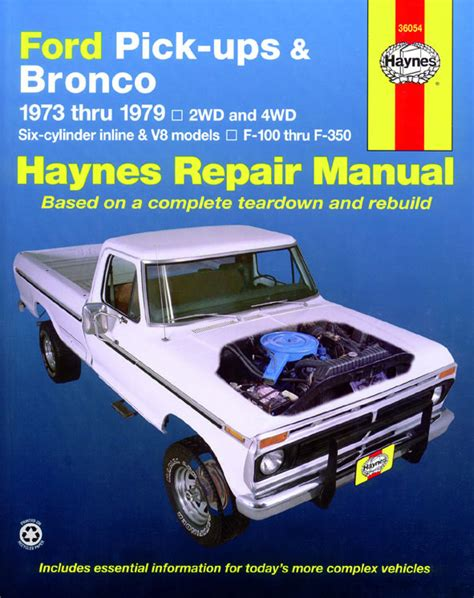 haynes ford courier pick up 1972 1982 auto repair manual ford pick up manuals haynes clymer chilton workshop original factory car motorbike