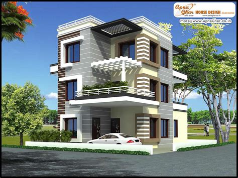 Free Online Floor Plan by Triplex House Design 5 Bedrooms Triplex House Design In