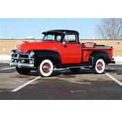 1954 CHEVROLET 3100 PICKUP  Front 3/4 138290