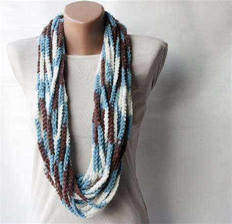 pattern for thick yarn scarf crochet infinity scarf pattern thick yarn manet for