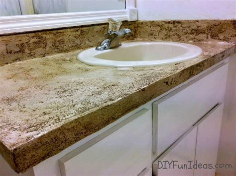 Concrete Overlay Countertops Diy by Remodelaholic Diy Concrete Countertop Reviews