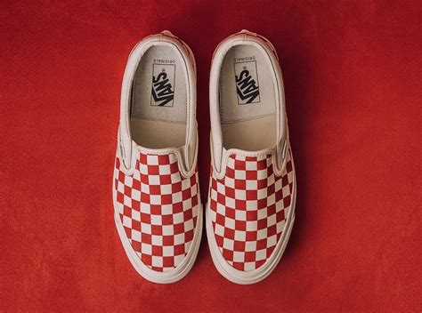 Harga Retail Vans Slip On vans slip on checkerboard white sneaker bar detroit