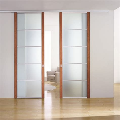 porte vetro scorrevoli porte scorrevoli aumentano lo spazio idee muratori