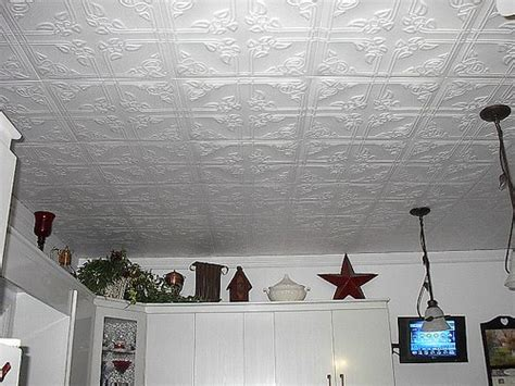 How To Hang Ceiling Tile by How To Install Glue On Ceiling Tiles