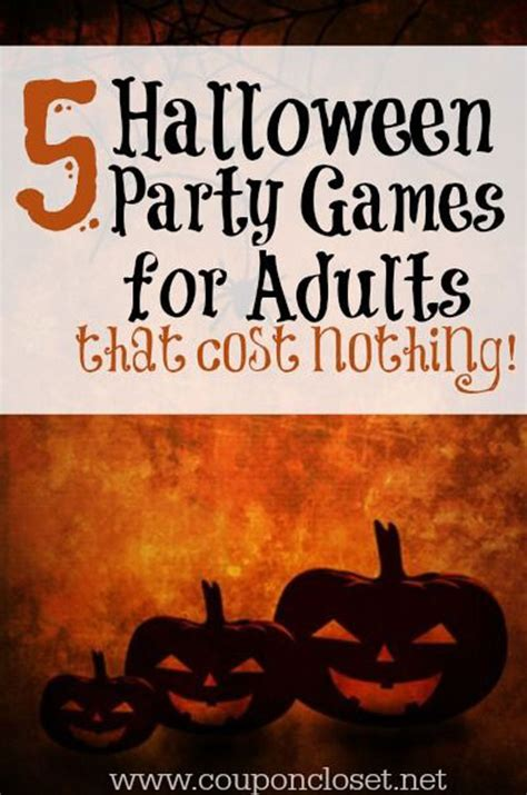 inspiring halloween party ideas  adults