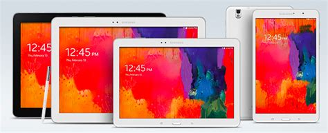 Samsung Galaxy Tab Series samsung galaxy tab pro and note pro tablets now available in the us links