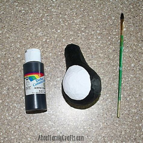 How To Make A Paper Mache Penguin - paper mache penguin crafts