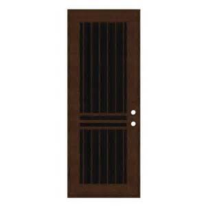 home depot security doors unique home designs 36 in x 96 in plain bar copperclad