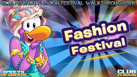 club penguin hollywood party walkthrough youtube club penguin fashion festival walkthrough 2015 youtube