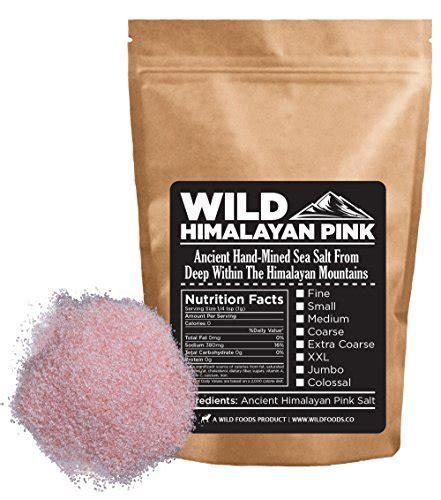 himalayan pink salt l amazon wild himalayan pink salt 100 natural and healthy