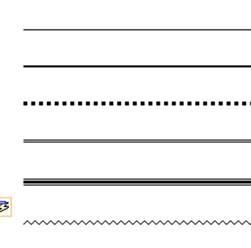 six ways to create lines in microsoft office word