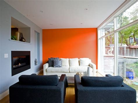 21 gorgeous living rooms with accent walls of all styles best 25 orange accent walls ideas on pinterest paint