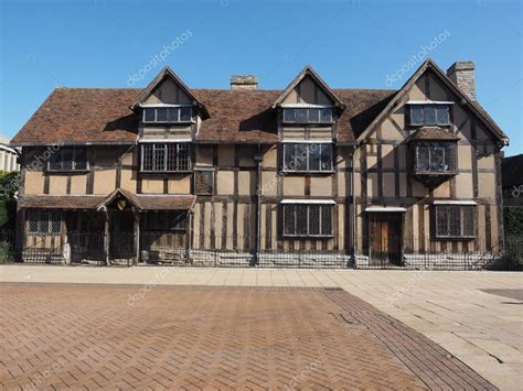 casa immagini casa natale di shakespeare a stratford upon avon foto