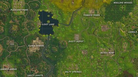 fortnite battle royale map locations  desert