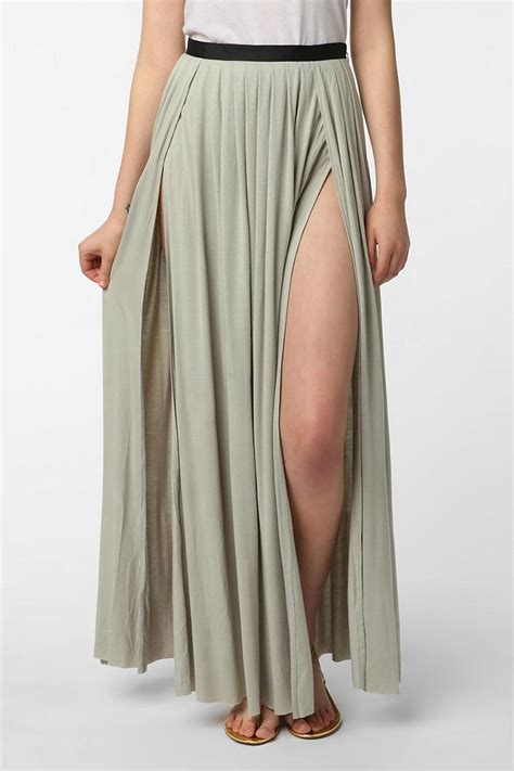 Maxi Zip Flow 18 best images about splits on stepping out split skirt and the