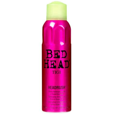 tigi bed head tigi bed head headrush shine spray 200ml free shipping