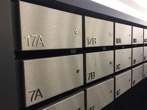 Apartment Mail Boxes by Best 20 Apartment Mailboxes Ideas On