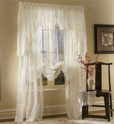 lacey curtains 23 best images about lacey window treatments on pinterest
