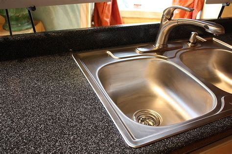 refinish kitchen countertop banish laminate counters with one easy product countertop redo products and cabinets
