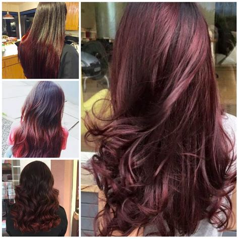chocolate cherry hair color pictures best 25 cherry hair colors ideas on black