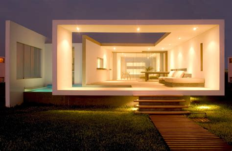 modern small house designs modern small beach house design in peru by javier artadi