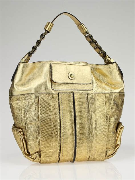 The Heloise Chloes Most Interesting Bags Since The Paddington gold leather heloise small shoulder bag yoogi s closet