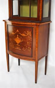 Cabinet Dealers by Edwardian Display Cabinet Antiques Atlas