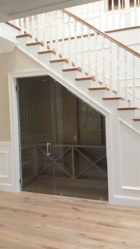 under stair case wine cooler wine coolers construction design and lightning on pinterest