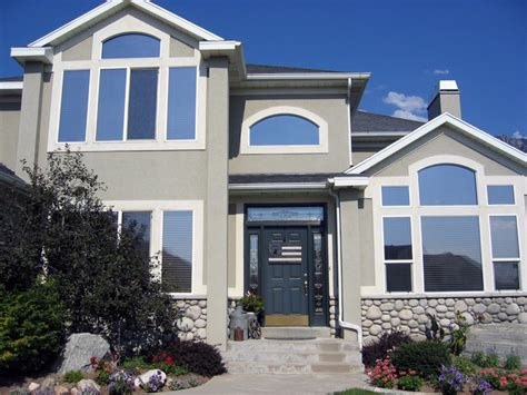 tinted glass windows for houses protective residential house window tinting service
