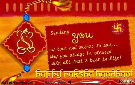 Greeting Card Templates For Raksha Bandhan by 40 Raksha Bandhan Greeting Pictures