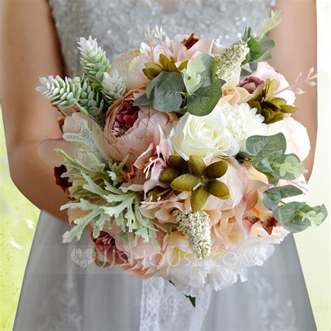 Silk Flower Wedding Bouquets by Satin Silk Bridal Bouquets 123114695 Wedding