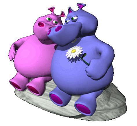 imagenes gif enamorados gifs de animales hipopotamos para decorar tu pagina
