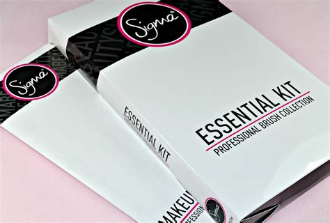 Jual Sigma Essential Kit sigma essential 12 brush kit from chamber review gemma etc