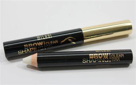 Milani Brow Shaping Gel Diskon drugstore eyebrow wax pencil world novelties makeup 2017