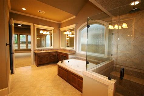 Master Bathroom Ideas Photo Gallery Luxury Bathroom With Tub Home