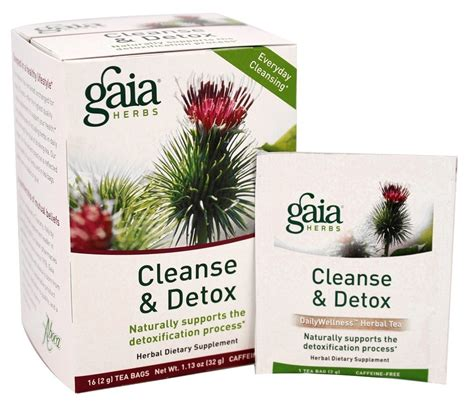 Gaia Detox by Buy Gaia Herbs Cleanse Detox Herbal Dietary Tea 16