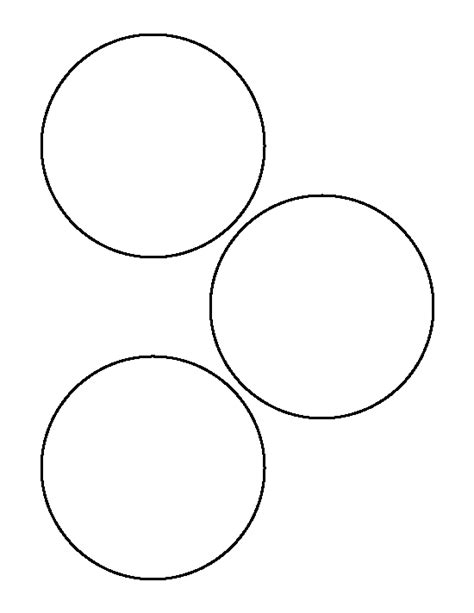 4 Inch Circle Pattern Use The Printable Outline For Crafts Creating Stencils Scrapbooking Circle Cut Out Template