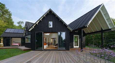 modern cabin design contemporary yet traditional danish summer cabin modern