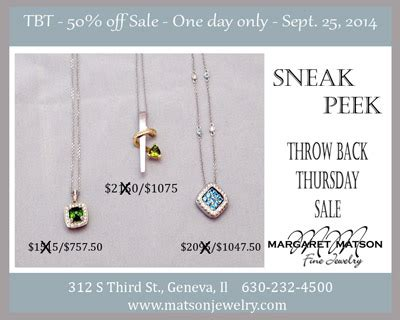 throw back thursday s day throw back thursday sale matson jewelry