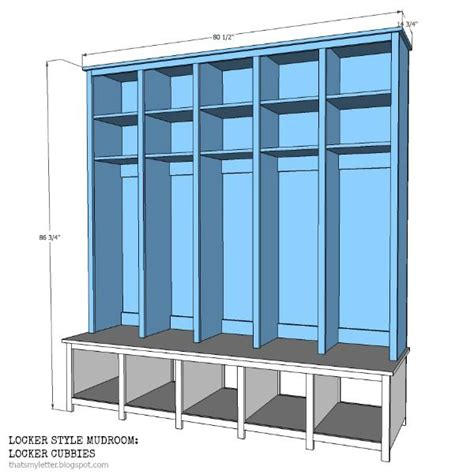 how to build a mudroom bench with cubbies locker style mudroom locker cubbies that s my letter