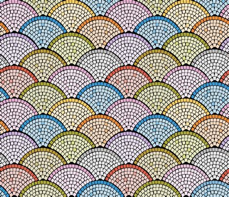 X By Cheerfull Shop cheerful scallops bright fabric mia valdez