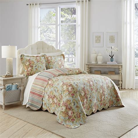 the bedroom superstore spring bling bedspread by waverly bedding collection
