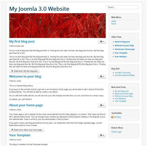 change category blog layout joomla 3 how to change the banner image in joomla 3 1 inmotion