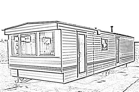 home sketch mobile home sketch image sketch