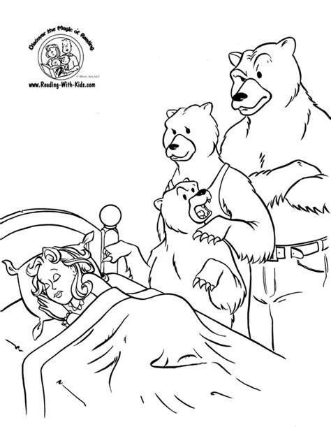 printable coloring pages goldilocks three bears goldilocks and the three bears coloring page az coloring