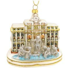 trevi fountain ornaments ornaments on glass ornaments ornaments and ornament