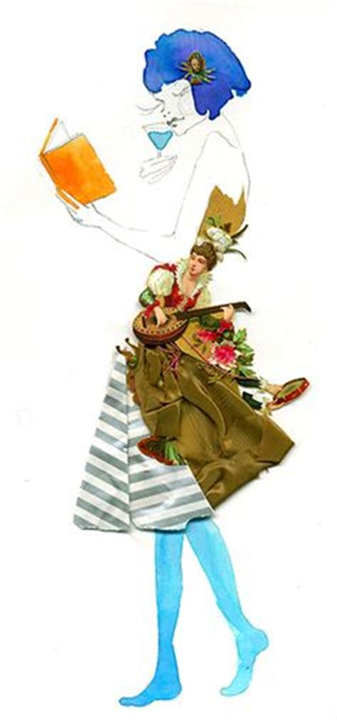 1000 images about collage fashion illustrations on